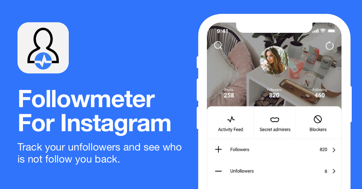 Followmeter For Instagram | iOS and Android